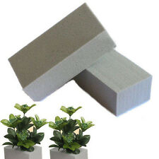 2PCS Floral Foam Brick Florist Blocks Dry Flower Wedding Bouquet Ideal Holder Cr