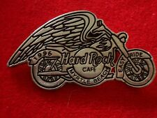HRC Hard Rock Cafe Myrtle Beach Bike Night Easy Ride 1996 Silver Logo