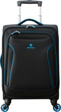 Delphin Cruise 2 57cm Cabin Carry On Spinner Suitcase Black