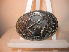 VINTAGE TEXAS 1986 Thompson Pump Belt Buckle