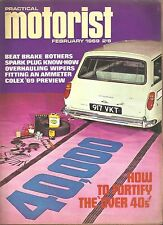 *PRACTICAL MOTORIST MAGAZINE - RARE EDITION FROM FEBRUARY 1969 [N1]