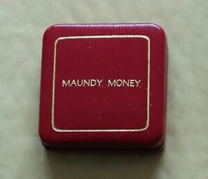 Maundy Money coin case, no coins, display box only