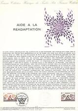 DOC. PHILATÉLIQUE - AIDE A LA READAPTATION - 1978 YT 2023