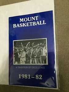 FM9-2 1981-82 MOUNT ST MARY'S Basketball Media Guide