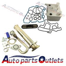 New Oil Cooler + EGR Delete kit For 2003-07 Ford Powerstroke Diesel F250 6.0L