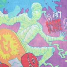 Vintage 90s Goosebumps Pillowcase R.L. STINE Double Sided Print Nicely Faded