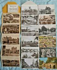 Postcards, Lettercards etc, Herefordshire, Worcester, Ludlow, Bourton, Evesham