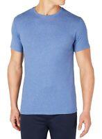 32 Degrees Mens T-Shirt Heather Blue Size XL Cool Lightweight Crewneck Tee 253