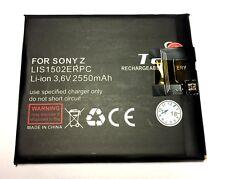 Akku für Sony Xperia Z - Accu Ersatzakku Experia Xpiria LIS1502ERPC - 2550 mAh !
