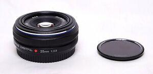Olympus Zuiko Digital 25mm f2.8 Four Thirds Lens E-1 E-3 E-5 E-420 E-520 E-620