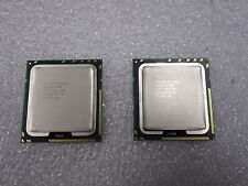 Matched Pair Intel Xeon E5520 2.26GHZ/8M/5.86/GT SLBFD Socket 1366 CPU