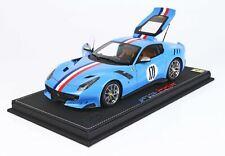 #BBR182108ST - BBR Ferrari F12 TDF  - Tailor Made One Off - Blue - 1:18