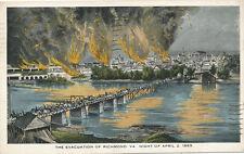 Richmond VA * Civil War Evacuation Apr. 2, 1865 *  No. 86 in Series