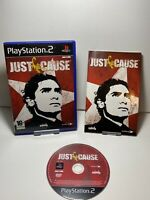 PLAYSTATION 2 JUST CAUSE PS2 ACTION ADVENTURE WITH MANUAL 16+ Game