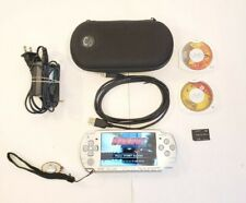 Sony PSP 2001 Handheld System Carry Case 3 Games Charging Cord USB New Battery