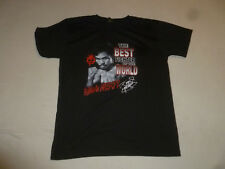 MANNY PACQUIAO THE BEST FIGHTER OF THE WORLD T-SHIRT SIZE 2XL BLACK CLOTHESLINE
