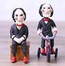 2pcs/set Hot Movie Saw Billy Mini PVC Figure Horror Dolls Decoration Toys