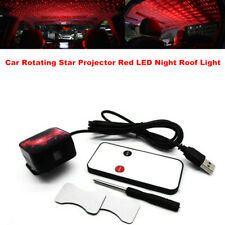 Car Interior Rotating Star Projector Red LED Night Roof Light Atmosphere lamp