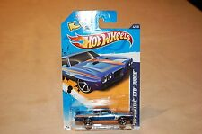 Hot Wheels '70 Pontiac Gto Judge - 2012 Muscle Mania Gm 104/247 1:64 Blue