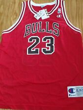 Vintage 90s Michael Jordan Bulls Replica un signed Jersey New with tags Y XL