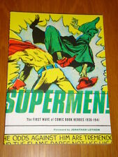 SUPERMEN! FIRST WAVE OF COMIC BOOK HEROES 1936-1941 FB 9781560979715