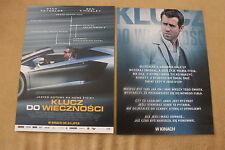 Self/less (2015) Ryan Reynolds Ben Kingsley - Polish promo FLYER
