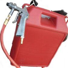Portable Air Sand Blaster 30lb Capacity Steel Nozzle Rust Removal Cars 32de