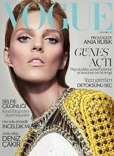 Vogue TURKEY April 2013, Anja Rubik, FREE VOGUE WEDDING Magazine SEALED