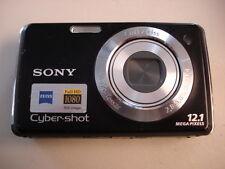 Nice SONY CyberShot DSC-W230 12MP Digital Camera - Black