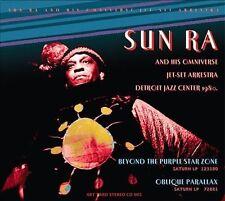 Ra, Sun-Ra, Sun - Beyond The Purple Star Zone: Live At Detroit Jazzcenter CD NEW