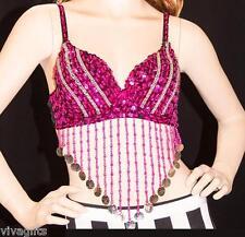 Ladies/Girls Bollywood/Gypsie Pink Beaded Top for Costumes!