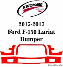 3M Scotchgard Paint Protection Film Clear Kit 2015 2016 2017 Ford F-150 Lariat