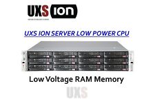 UXS Server ION 2U Low Power 2x Xeon E5-2630L 60W 32GB Low Voltage RAM FREENAS
