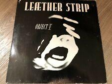 Leaether Strip – Object V P1 Vinyl  Industrial, Electro