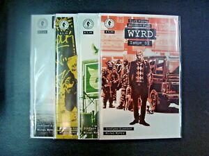 Wyrd #1-4 Complete Set Run Dark Horse Comics