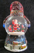 Schneekugel Schüttelkugel mit Spieluhr Weihnachten Weihnachtsmann - Form 54084