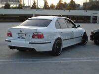 E39 NEW Rear window spoiler sunguard aerodynamic cover sedan saloon trim lip M5