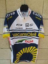 Maillot cycliste VACANSOLEIL DCM Pro Cycling Team shirt TOUR 2012 jersey trikot