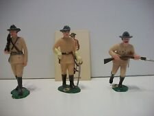 "Warriors of the World by Marx   Spanish American War "" Rough Riders""   Rare!"