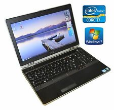 """Dell Latitude E6530 15.6"""" i7 3520M 2.9GHz 12GB 256GB SSD CAM WIN 7 Tast. Bel. DE"""