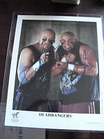 WWF WWE Wrestling Superstar The Headbangers Signed 8x10 Photograph LOOK