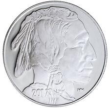 2017 Highland Mint 1 Troy oz. .999 Silver American Indian Buffalo Round SKU45375