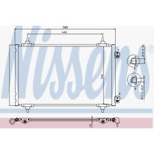 Kondensator Klimaanlage - Nissens 940111