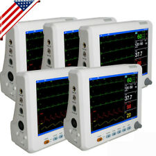 8in Vital Signs Patient Monitor 5 6 Parameter Cardiac Monitor Hospital Machine