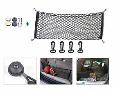 US 1x Black Car SUV Rear Cargo Trunk Boot Floor Net Elastic Mesh Storage Durable