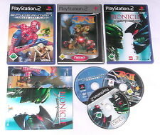 3 Top Kids Games for Playstation 2 e.g. Lego Bionicle; Spiderman; JAK II
