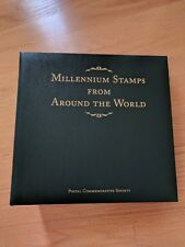FDC Millennium Stamps from Around the World first day cover album