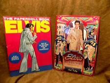 Elvis Presley Paper Dolls-Two Books