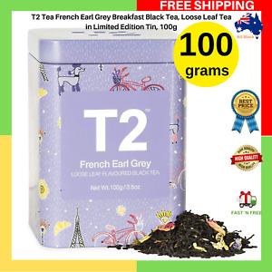 T2 Tea French Earl Grey Breakfast Black Tea Loose Leaf Tea Limited Edition NEW