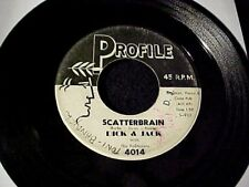 DICK & JACK Scatterbrain/Shirley ROCKABILLY R&B~RARE DJ PROMO on PROFILE Hear